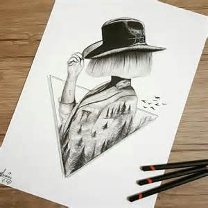 i personify imagination in my pencil drawings 99inspiration