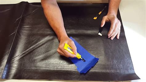 Repair In Leather by How To Repair Vinyl Leather With Plasti Dip Vlp