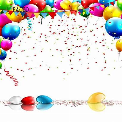 Celebration Birthday Balloons Party Backgrounds Studio Backdrops
