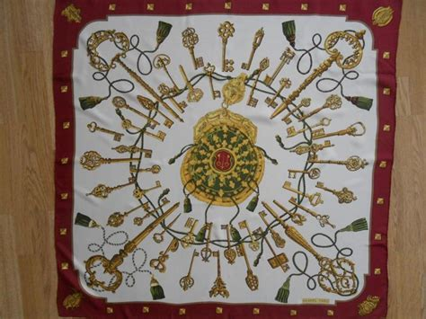 hermes les cles  cles hermes scarf scarf catawiki