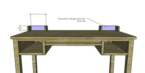 diy vanity table plans diy plans to build a magnolia vanity table