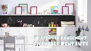 Rangement Chambre Enfants : petites et grandes astuces de rangement pour chambre d 39 enfant ~ Melissatoandfro.com Idées de Décoration