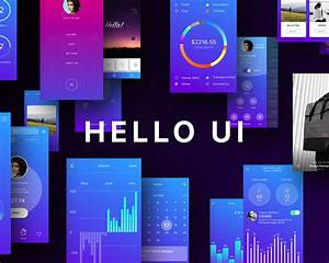 Android Ui Design Book Hello Ui Kit For Sketch App Visual Hierarchy