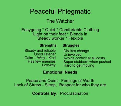 Girl With An Attitude Phlegmatic