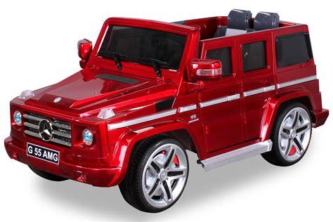 auto für 3 kinder das mercedes elektro kinderauto g55 amg high door miweba gmbh