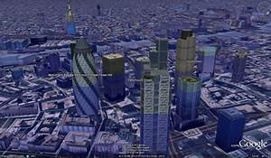Flooding Google Earth