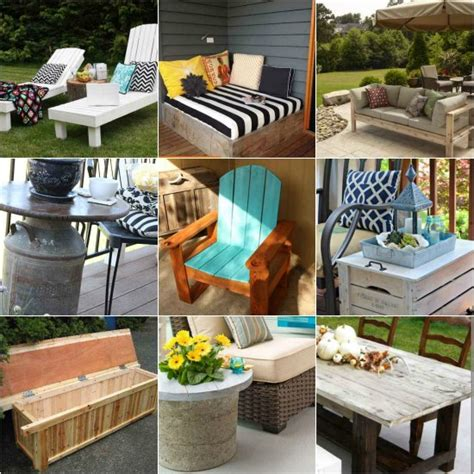 20 great diy furniture projects on a budget style motivation 18 diy patio furniture ideas for an outdoor oasis