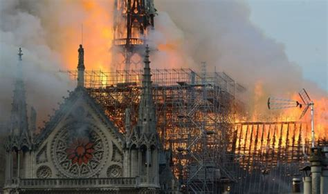 notre dame fire   devastating blaze revealed
