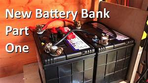 New Year  New Battery Bank - Part 1 - 12v Solar Shed
