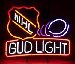 Bud Light NHL Neon Sign