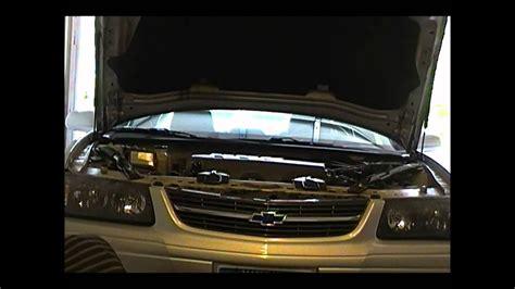 transmission fluid change  chevy impala