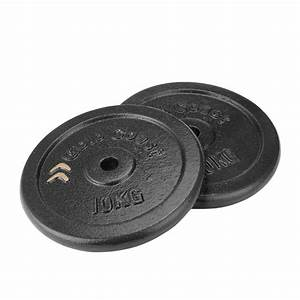 Gold Coast 2 X 10kg Cast Iron Weight Plate Set