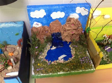 maqueta de ecosistema maqueta de ecosistema los alumnos de   de primaria
