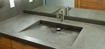 Integrated Sink And Countertop by Vanity Tops With Integrated Sink For Bathroom