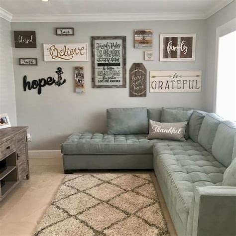 The wood adds comfort and warm as well as character. 75 Best Farmhouse Wall Decor Ideas for Living Room (11) - Ideaboz