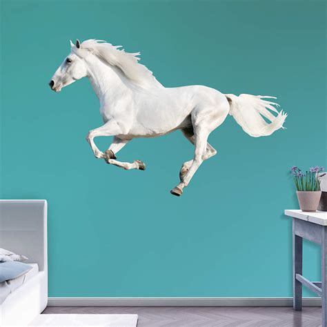 Fathead Baby Wall Decor by White Running Wall Decal Shop Fathead 174 For General