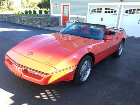 1989 Corvette Convertible, 6 Speed 34k Low Miles For Sale