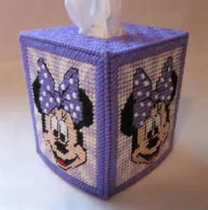MINNIE MOUSE Boutique Size Tissue Box Cover - 3 Color Choices - Cartoon Character - Disney