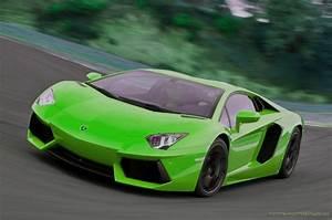 Green Lamborghini Aventador Wallpaper - image #56