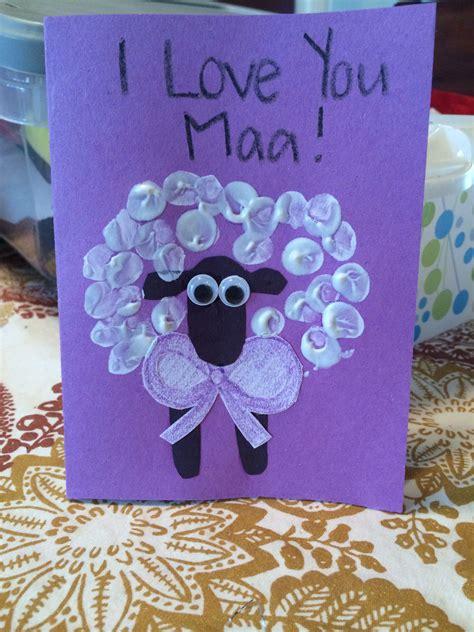 jesus loves ewe sheep crafts mothers day crafts