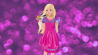 Barbie Wallpapers Cartoon Kecbio Backgrounds Wallpapertip Animated
