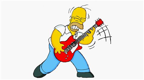 Au45-homer-simpson-guitar-cartoon-illustration-art-wallpaper