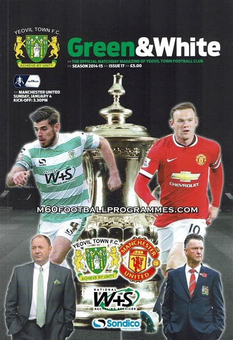 yeovil town  man united fa cup