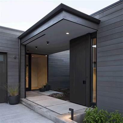 Desert Minimalist Entrance Exterior Simple Door Contemporary