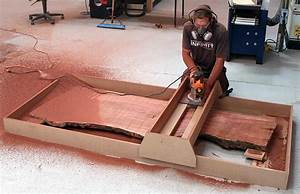 Slab Flattening Router Jig - Woodworking Plans & Projects