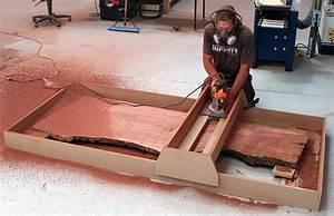 Slab Flattening Router Jig Plans - Woodworking Plans
