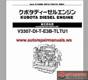 Takeuchi Track Loader P-tl230eba Engine Parts Manual