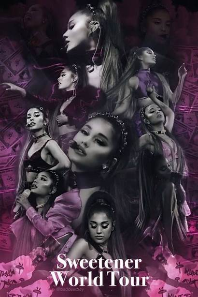 Sweetener Tour Ariana Grande Poster Outfits Arianagrande