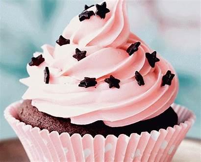 Chocolate Cake Cupcake Dessert Animated Frosting Icing