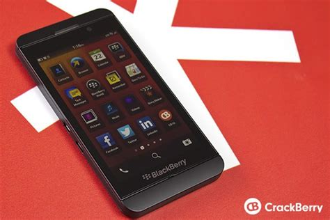 official blackberry z10 specs and features crackberry