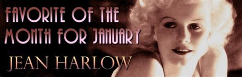 Jean Harlow Full List Of All Her Films