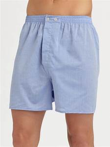 Derek rose Solid Boxer Shorts in Blue for Men | Lyst
