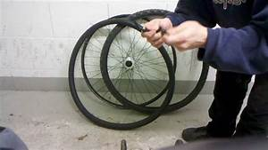 Reifen Auf Felge Ziehen : fahrrad reifen montage mantel aufziehen youtube ~ Watch28wear.com Haus und Dekorationen