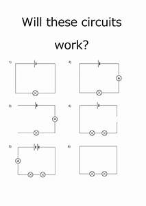 Will These Circuits Work  Worksheet By Kitatravs