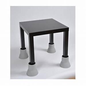 Pied De Table : rehausseur pieds table meuble de salon contemporain ~ Teatrodelosmanantiales.com Idées de Décoration