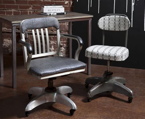 Office Chairs Industrial by Vintage Industrial Office Chairs The Mod Bohemian