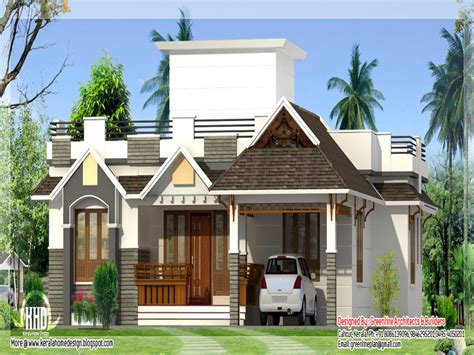 single house designs kerala style single storey house design bungalow floor