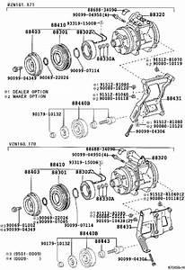 Toyota Tacoma A  C Compressor Clutch  Clutch  Magnet