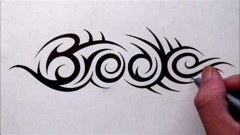 custom tattoo designs hidden tribal  brooke youtube