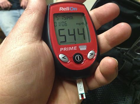 high blood sugar glucose reading   high blood