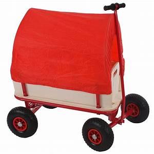 Bollerwagen Mit Dach : bollerwagen handwagen leiterwagen oliveira mit sitz mit bremse dach rot ~ Whattoseeinmadrid.com Haus und Dekorationen