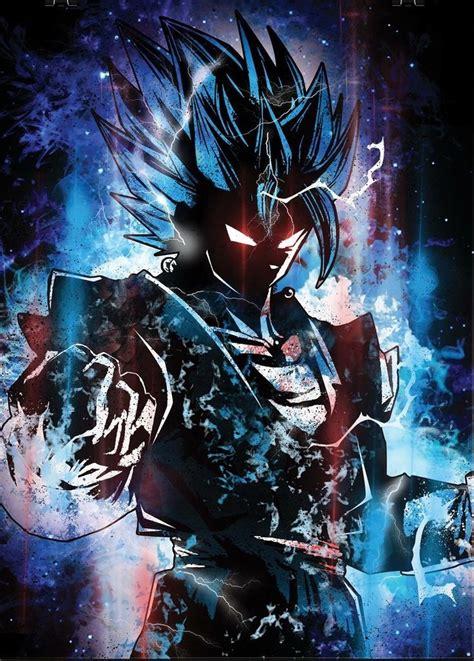 ultra instinct vegito dragon ball gt anime desenhos
