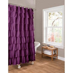 purple ruffle curtains target 25 best ideas about purple shower curtains on