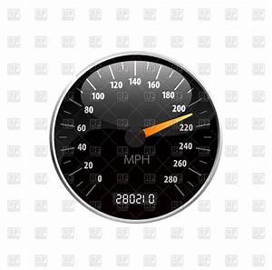 Speedometer Vector Image #74075 – RFclipart