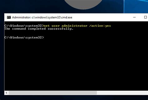 Fix Lost Administrator Rights Or Password In Windows 10