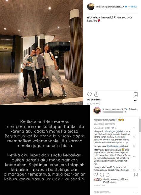 Heboh Alasan Nikita Mirzani Lepas Hijab Gantengnya Azriel